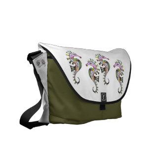 Sea Horses Messenger Bag