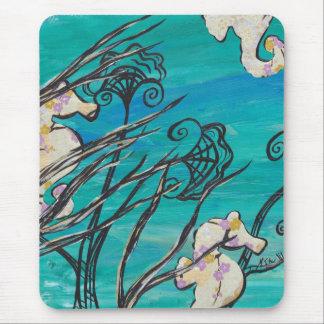 Sea Horses Mouse Pad