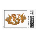 Sea horses Postage