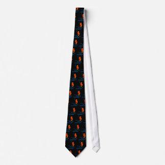 Sea horses tie