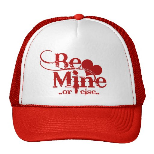 Sea humor del día de San Valentín de la mina Gorras De Camionero