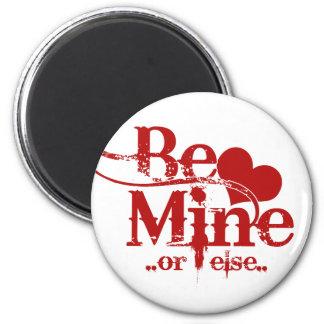 Sea humor del día de San Valentín de la mina Imanes