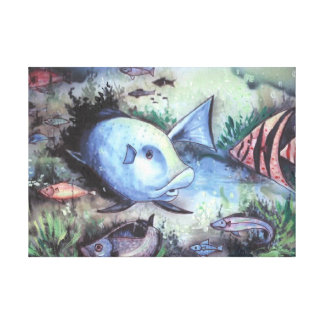 Sea Hunt Canvas Print