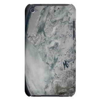 Sea ice above North America Barely There iPod Cover