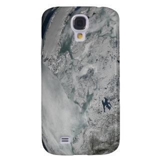 Sea ice above North America Samsung Galaxy S4 Covers