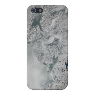 Sea ice above North America Case For iPhone 5