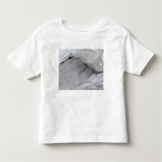 Sea ice and cloud streets in the Bering Sea Toddler T-shirt