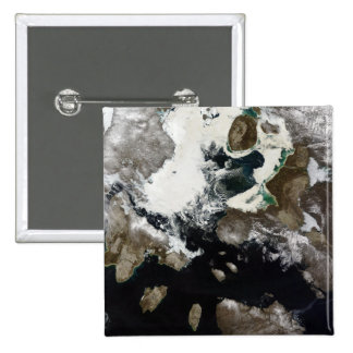 Sea ice and sediment visible in Nunavut, Canada Buttons