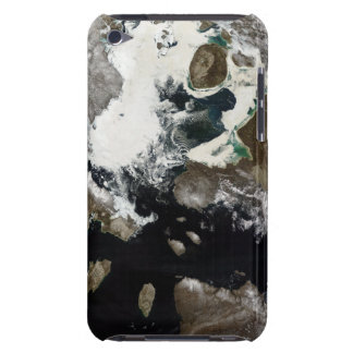 Sea ice and sediment visible in Nunavut, Canada iPod Touch Case-Mate Case