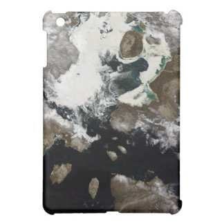 Sea ice and sediment visible in Nunavut, Canada Cover For The iPad Mini