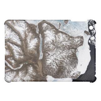 Sea ice lines the shoreline in eastern Greenlan iPad Mini Case
