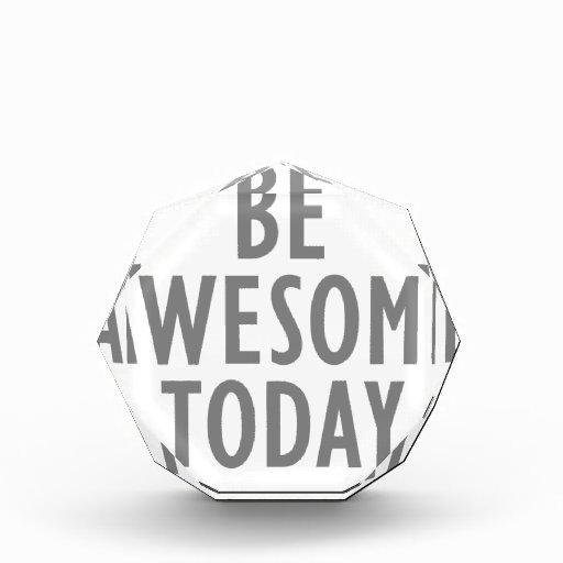 Sea impresionante hoy