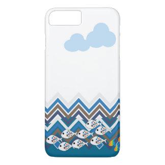 Sea in a line iPhone 8 plus/7 plus case