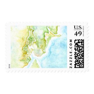 Sea Island Custom Stamps