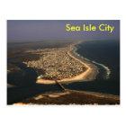 Sea Isle City Aerial Postcard