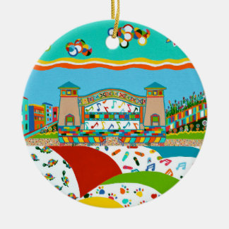 Sea Isle City Ceramic Ornament