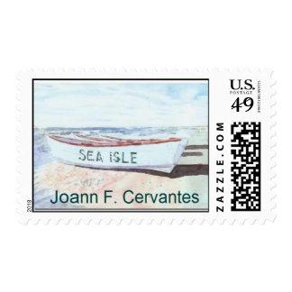 Sea Isle City Lifeguard Boat Postage
