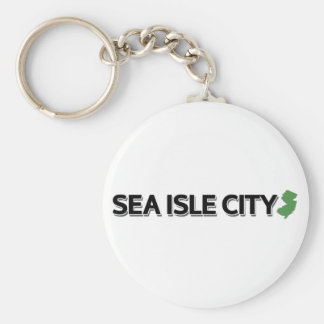 Sea Isle City, New Jersey Keychain