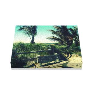 Sea Isle Palms Canvas Print