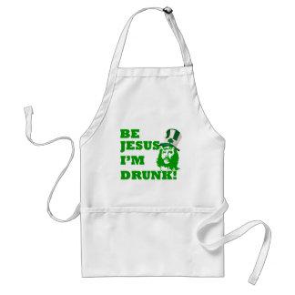 Sea Jesús que me beben Delantal