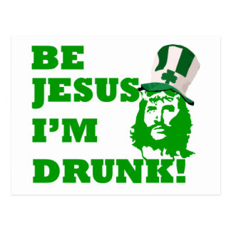 Sea Jesús que me beben Postal