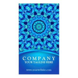 Sea Jewel Mandala Business Card Template