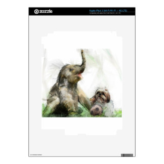 sea juguetón iPad 3 pegatinas skins