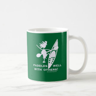 Sea Kayak Paddles Well White Coffee Mug