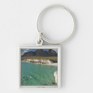 Sea kayaker on the Gulf of California at Isla Keychain