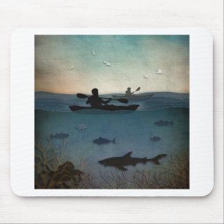 Sea Kayaking Mouse Pad