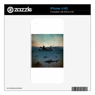 Sea Kayaking Skins For iPhone 4S
