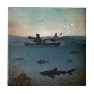 Sea Kayaking Tile
