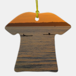 Sea Kayaks Christmas Ornaments