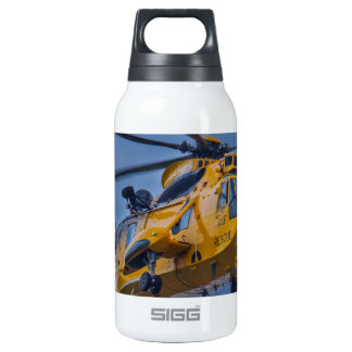 Sea King Rescue Helicopter Insulated Water Bottle