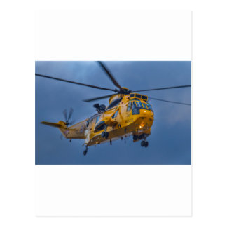 Sea King Rescue Helicopter Postcard