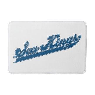 Sea Kings Script Bathroom Mat