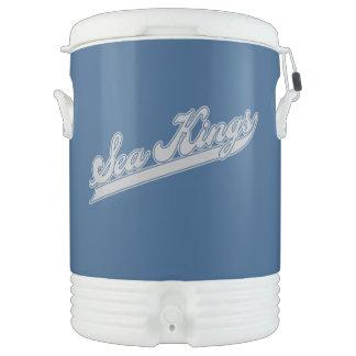 Sea Kings Script Beverage Cooler
