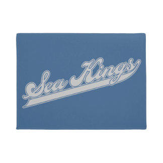 Sea Kings Script Doormat
