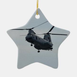 Sea knight CH-46 Ceramic Ornament
