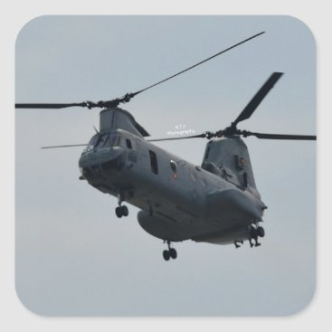 Sea knight CH-46 Square Sticker