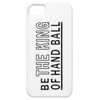 Sea la bola de mano de rey Of iPhone 5 Protectores