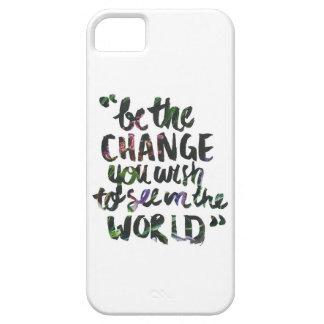 Sea la caja del teléfono del cambio iPhone 5 carcasas