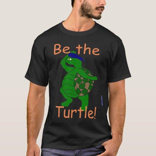 Sea la camiseta de la tortuga