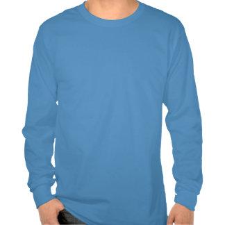 Sea la camiseta larga de la manga de los hombres d