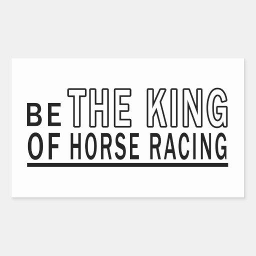 Sea la carrera de caballos de rey Of Rectangular Altavoz