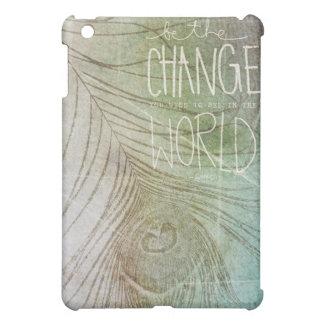 Sea la cita de Gandhi del cambio