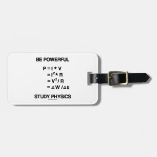 Sea la física potente del estudio de las ecuacion etiqueta de maleta
