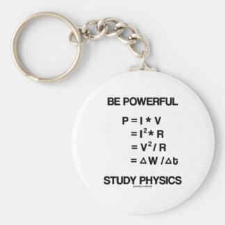 Sea la física potente del estudio de las ecuacion llaveros
