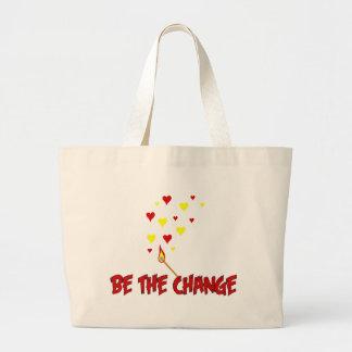 Sea la llama del cambio bolsas