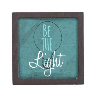 Sea la luz caja de joyas de calidad